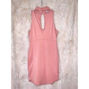 Dresses & Skirts - Blush body con dress 🎀